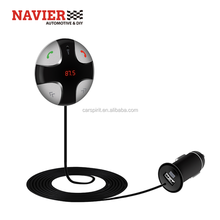 Driver auto mp3-speler met Bluetooth LED scherm en Magneet sucker