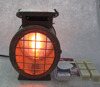 Metal Rust Grid Edison Electrial Candle Warmer Aromal oil burner Fragrance Diffuser