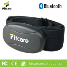 Fitcare HRM801 sports Bluetooth 4.0 heart rate monitor chest belt with customized logo