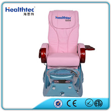 Glass sink and pipeless jet Whirlpool spa pedicure chair with mechanism hand massage & MP3