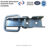 Custom metal pressed seat belt buckle types safety buckle