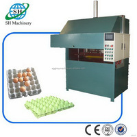 Low price unique paper new egg tray making machine plant