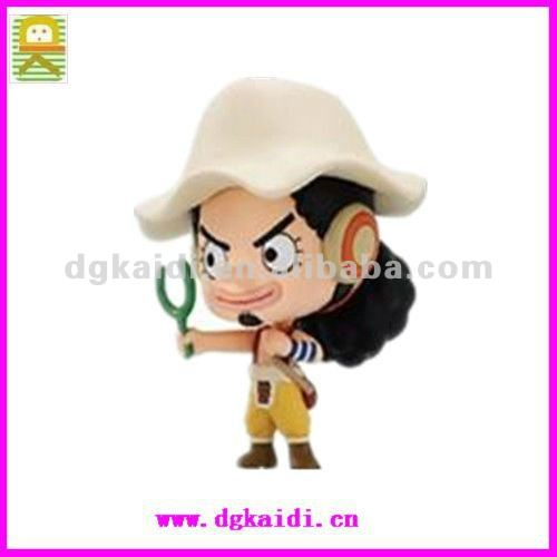 Custom design PVC USOPP character one piece figurines