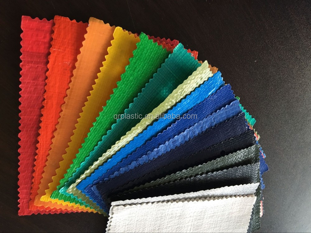 Waterproof plastic PE Tarpaulin fabric used for tent