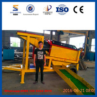 SINOLINKING Classifing Recovery Ore Low Price Small Scale Gold Mining Equipment