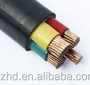 copper conductor XLPE cable 4 cores 240mm2 cable PVC SAW power cable