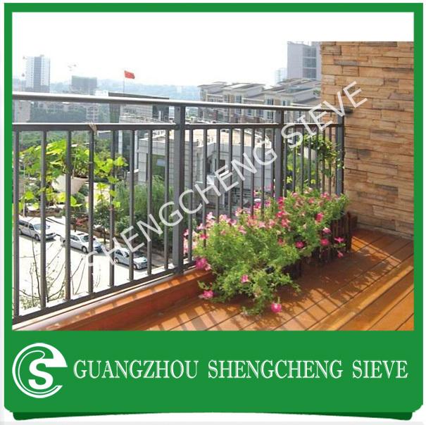 Galvanized steel veranda fences terrace fence buy for Terrace fence