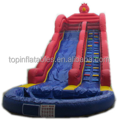 Hight quality cheap inflatable water slides
