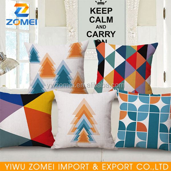New coming OEM design digital print promotional pillow in many style