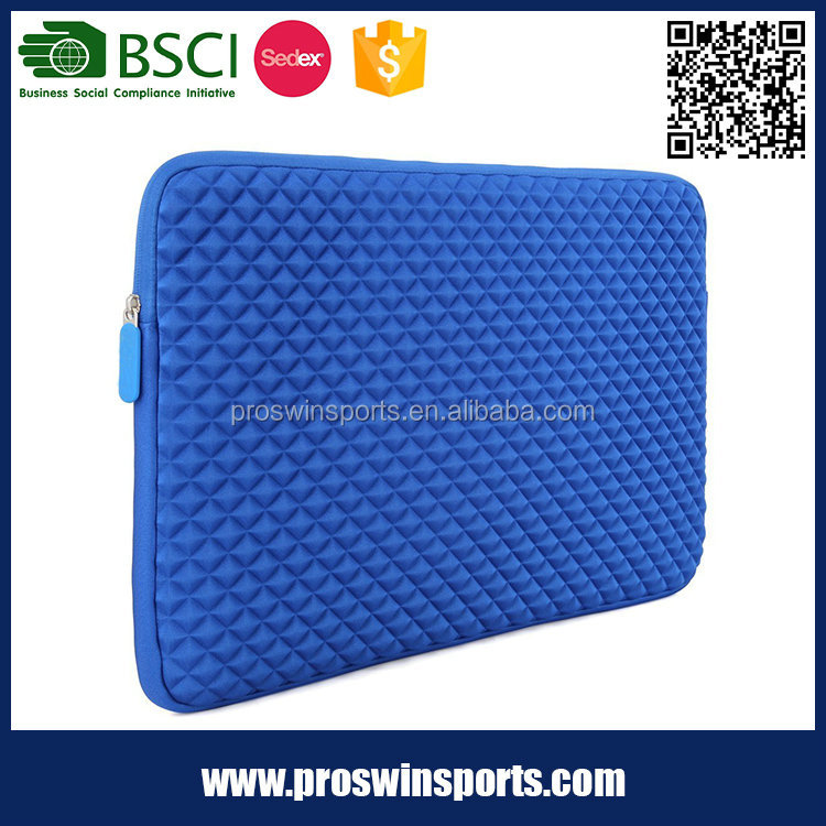 Portable high quality and fashion neoprene soft recycle laptop sleeve
