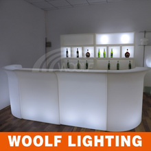 lighting furniture,LED bar counter illuminated led bar counter