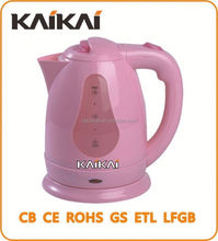 2015 New Model 1.8L red antique plastic electric kettle