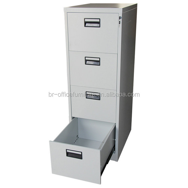 white grey letter card handle cheap metal storage furniture 4 drawer office steel filing cabinets