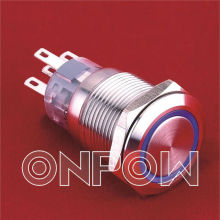 ONPOW 19mm latching Push button switch(Dia.19mm,LAS1-AGQ-11E,UL,CE,CCC,ROHS)
