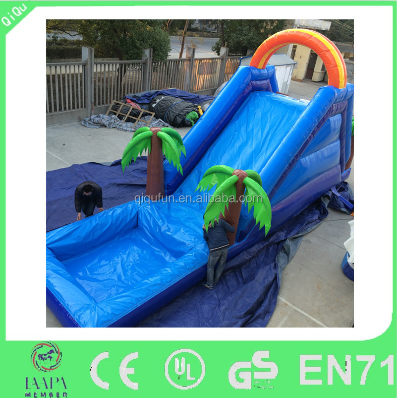 Wholesale adults lake inflatable big pool water slide