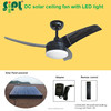 beach cooler solar panel summer home products electric ceiling fan blower fan 12 v