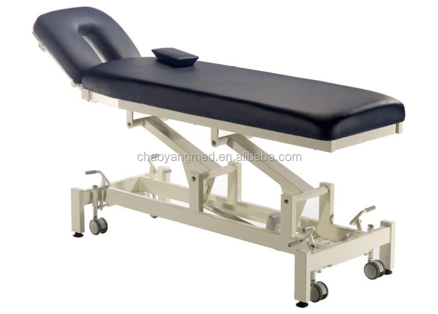 Rehabilitation Equipment electric massage type two section folding adjustable chiropractic table CY-C113