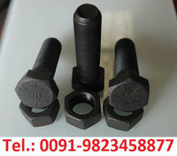 High Tensile Strength Bolt Nut Steel Black A193 Class 4.6 6.8 8.8 10.9 12.9 Threaded Rod Unbrako DIN Socket Hex Flat Head Zinc