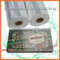 POF (polyolefine) wrapping film for display and promotional packaging