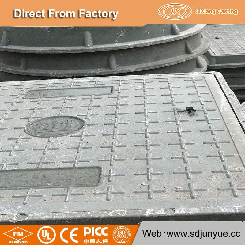 Export To Turkey Market Dubai Manhole Cover Manufacturers Drawing directly from JX Casting Factory