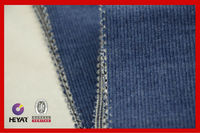 Cotton Blue Denim Corduroy Fabric With Different Colors