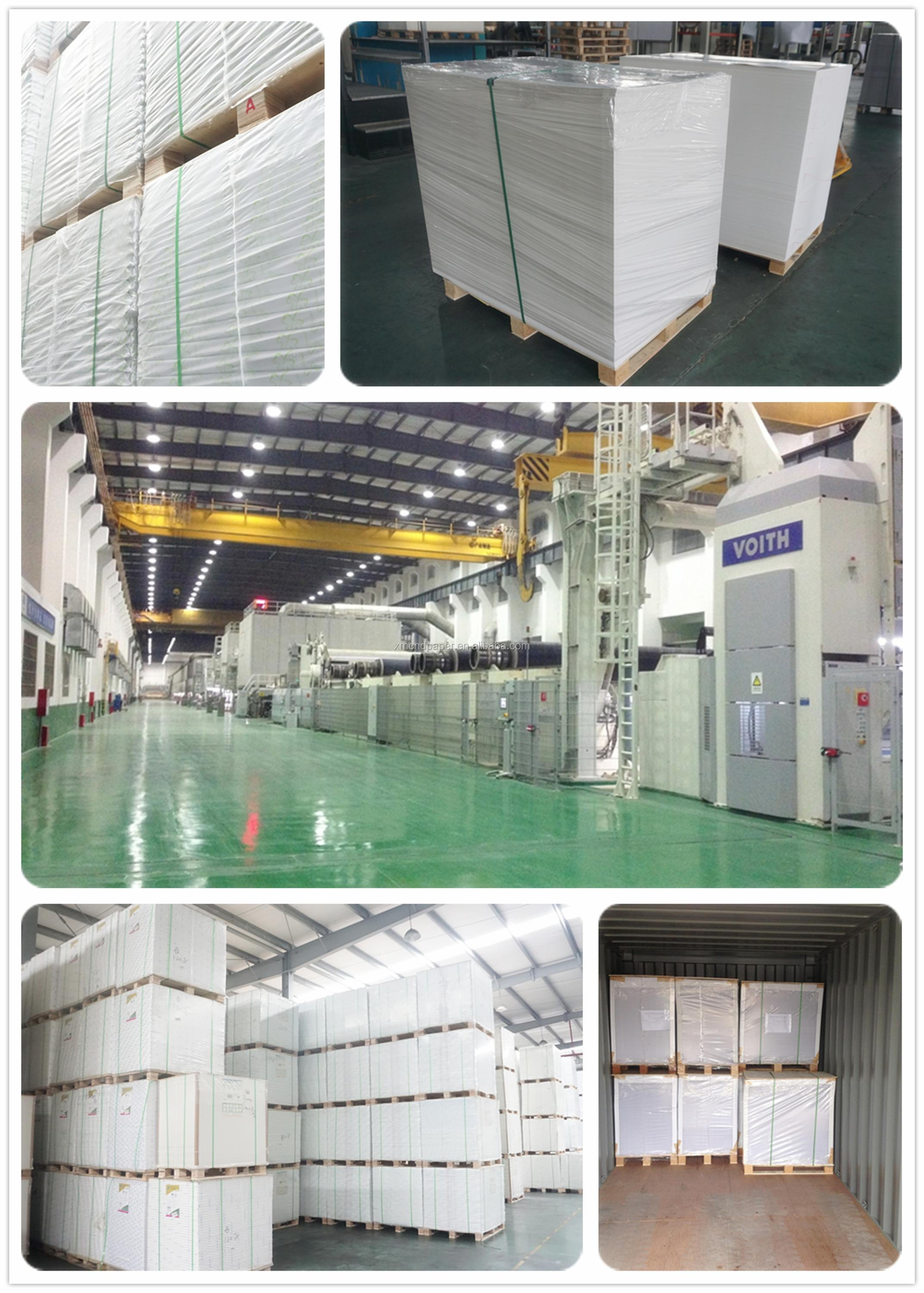 China Factory Wholesale Best Quality Customized 60/70/80Gsm Wood Pulp Offset Paper Woodfree Paper