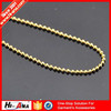 hi-ana chain1 Trade assurance Finest Quality metal ball chain