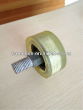 double ball bearing PU wheel caster for industrial