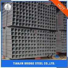 Construction Structure Building Material Black Square Pipe Steel Tube