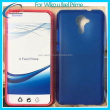 Pudding Soft TPU Cover Matte Gel Mobile Phone Case for Wiko u feel prime