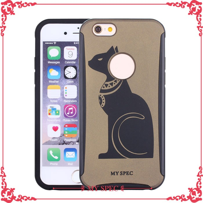 2017 new fashion wholesale silicone cell phone case for iphone 6