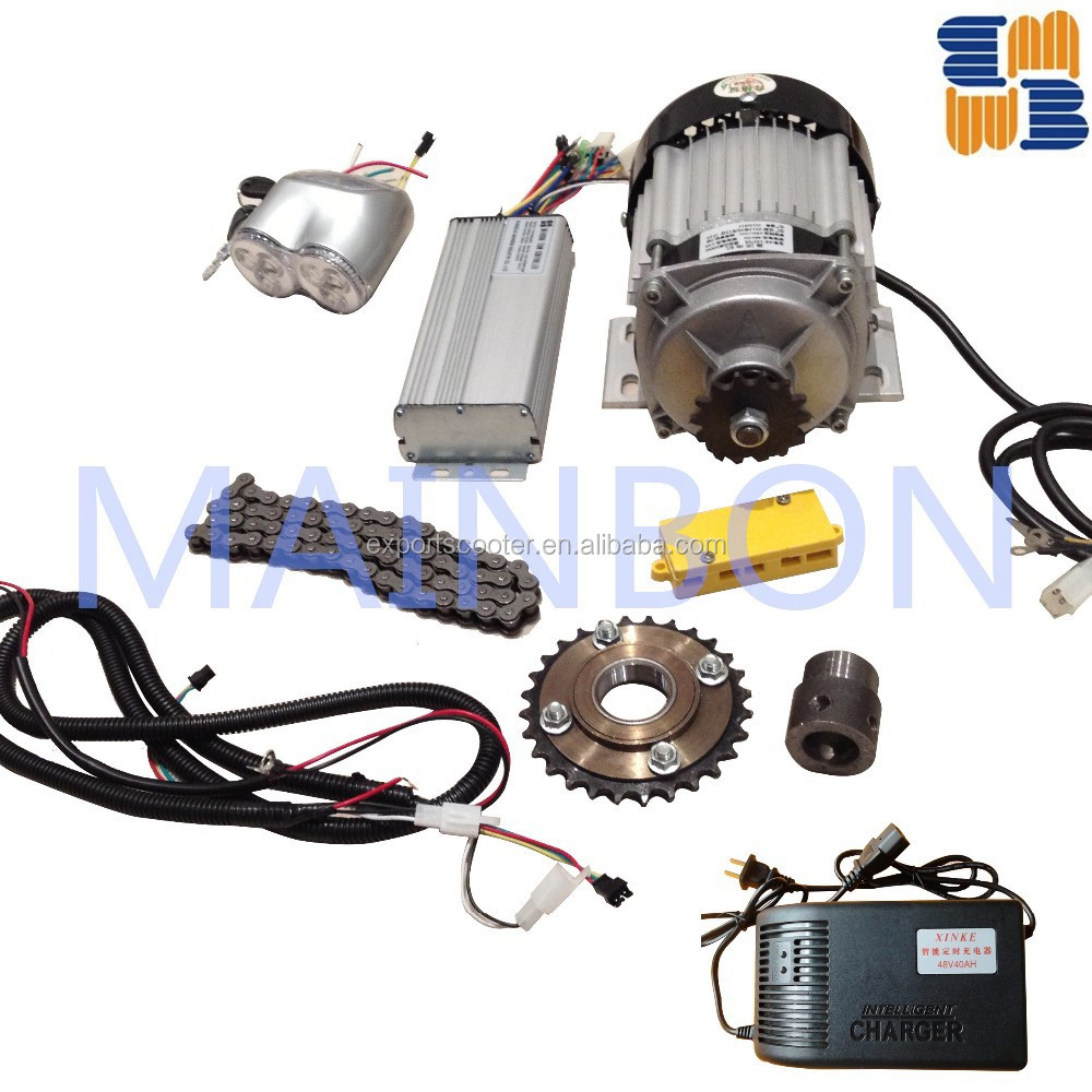Lowest electric auto rickshaw spare parts conversion kits with high quality