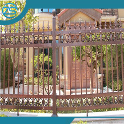 outdoor garden aluminum art guardrail/baluster/handrail design