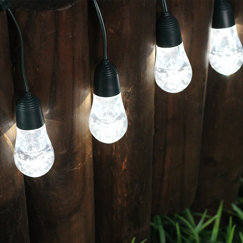 portable solar street light Waterproof & Weatherproof Globe Bulbs, Vintage Edison Commercial Grade Cafe/Bistro Lighting