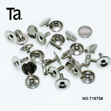 Metal rivets flat head rivets for handbags accessories