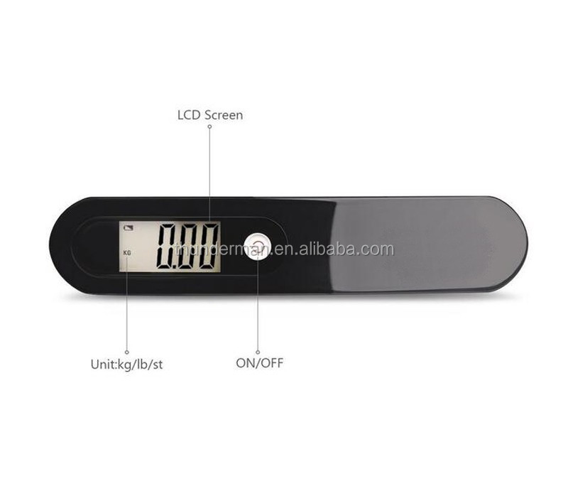 50kg Stainless Steel Digital Hanging Luggage Scale for travel,shopping,luggage,family use