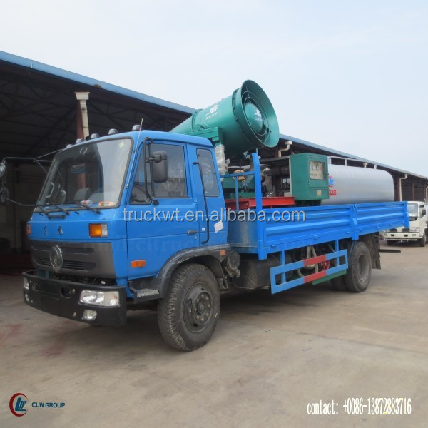170hp 4*2 DONGFENG farm chemicals spraying truck 8000 Liter