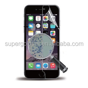 3.5'' Anti-bacterial screen protector for mobile phone 4/4S