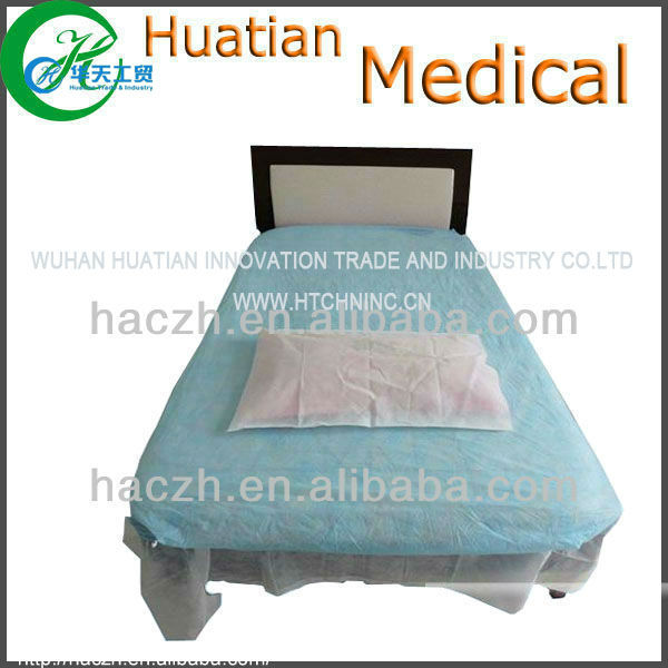 Disposable bed cover,disposable fitted bed sheets