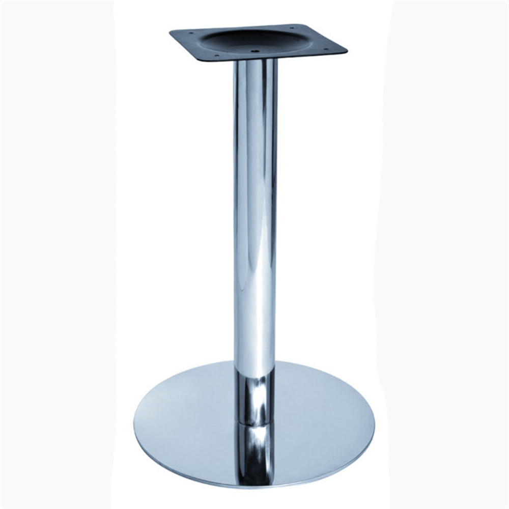 Hot sell stainless steel outdoor dining table base for marble top for RH343