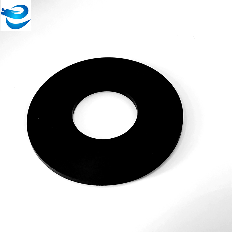 High heat resistant black round rubber washer