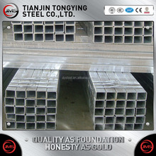 34mm seamless ungalvanized square rectangular black ERW steel pipe, steel tube