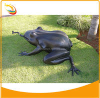 Fiberglass Resin Animal Sculpture Home Decor Fiberglass Frog Sculpture Fiberglass Frog Statue