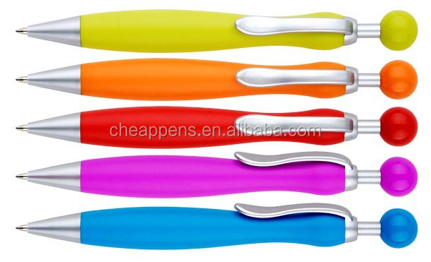 promotional use blank plastic pen