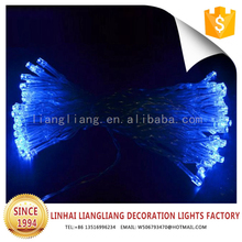 hot sale blue decoration battery string led light icicle