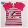 2-6Y (K4691) Summer nova kids wholesale kids clothing dora girls tshirts printed ready stock printed baby girls t-shirts