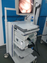 China Advanced CE approved Medical electronic Video Gastroscope and Video Colonoscope Endoscope in one set