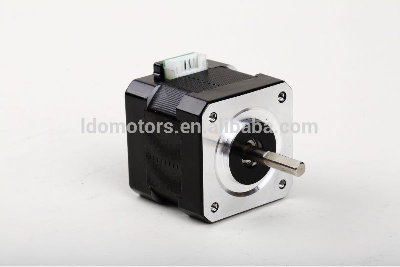 LDO popular nema 17 hybrid stepper motor for CNC Hobbyist