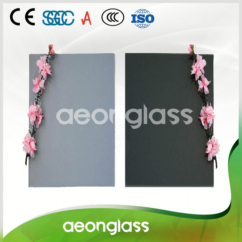 Adhesive film stained tinted glass price for window and door