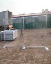 60x150mm temporary fence,temporary fence stands concrete
